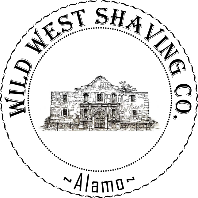 Alamo Shaving Soap - Yellow Rose, Spanish Moss, Black Currant, Black Pepper.