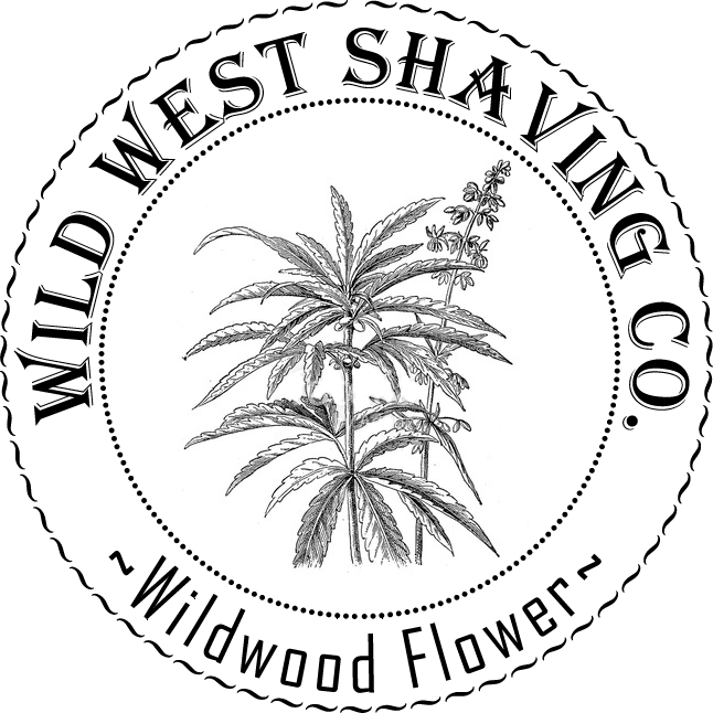 Wildwood Flower Shaving Soap - Cannabis Flower