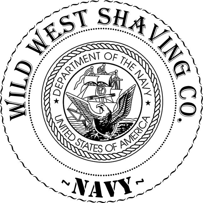 *NAVY* Shaving Soap - Black Berry, Bay Berry, Salt Air