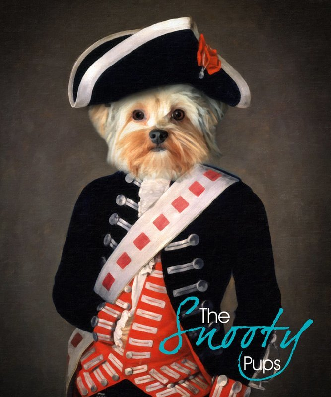 Custom Dog Portrait - Military Soldier