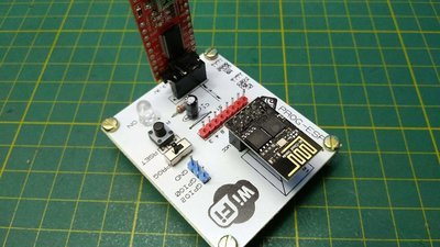 ProgESP - Placa Adaptadora para a utilização do modulo ESP8266-01, Simples e pratica para prototipar.  Atenção *** -  A placa não acompanha o ESP8266-01 e o Modulo USB FTDI