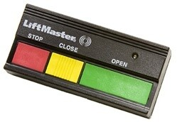 333LM LiftMaster Commercial Open, Close, Stop Remote 315MHz