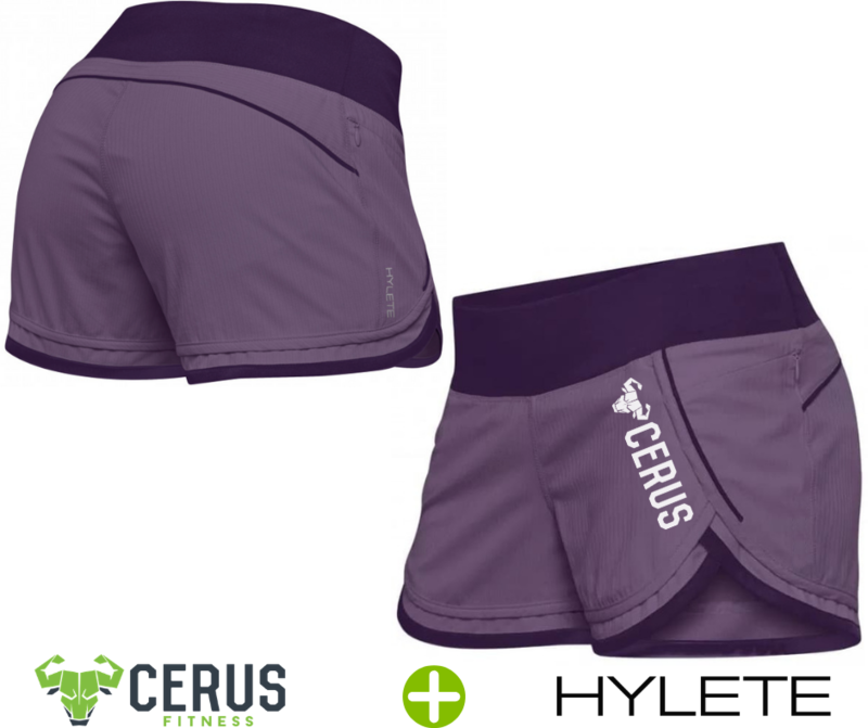 Cerus by Hylete Iris Scallop Short