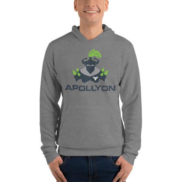 Apollyon Hoodie - Green Print