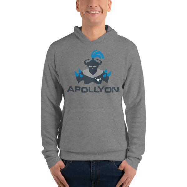 Apollyon Hoodie - Blue Print