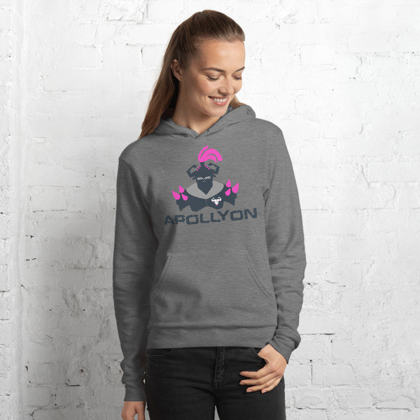 Women's Pink Apollyon Hoodie