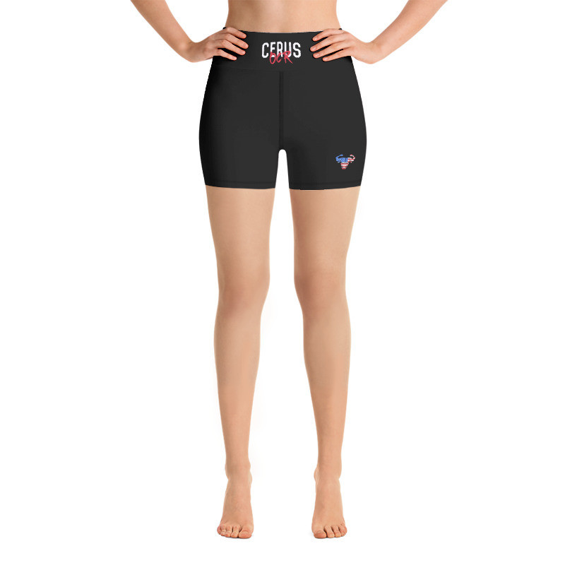 Women's USA Yoga Shorts