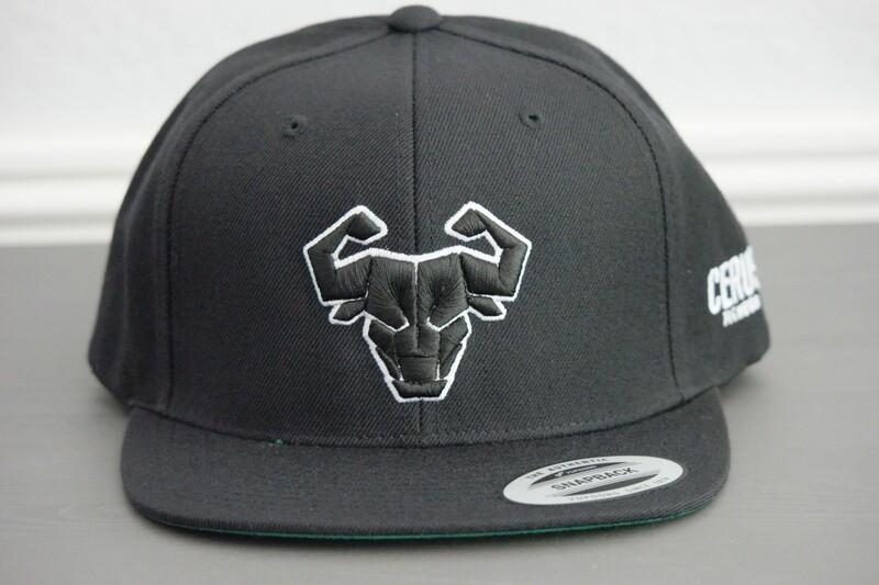 Cerus Black Halo Snapback Hat