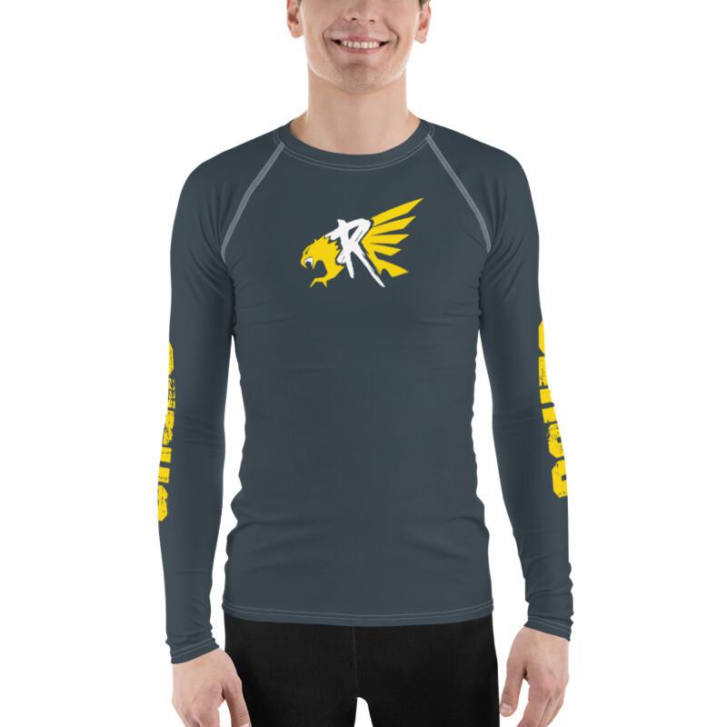 Men's Yellow Ruk Long-Sleeve Tech