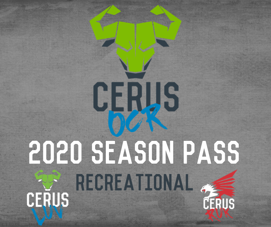 Cerus 2020 Recreational Wave Season Pass