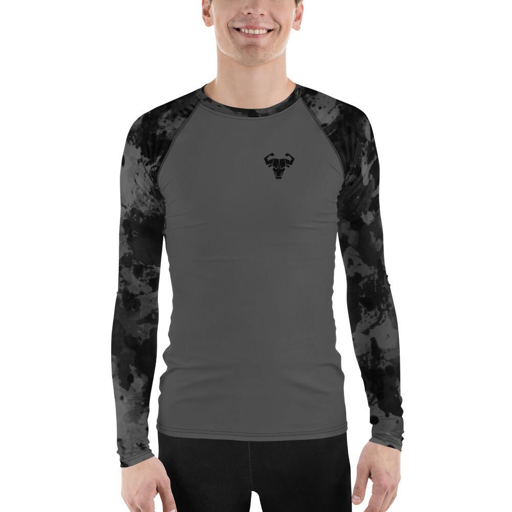 Men's Black Long-Sleeve Tech Shirt