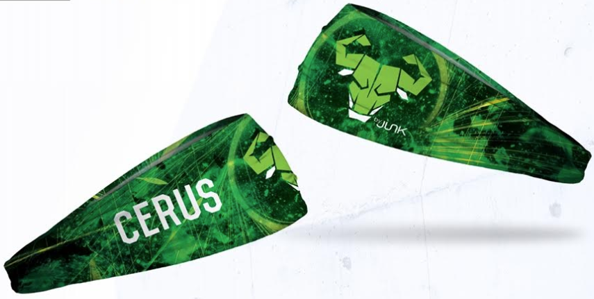 Cerus Green Headband by JUNK