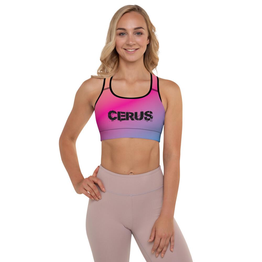 Cerus Rainbow Padded Sports Bra