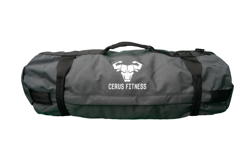 Cerus Fitness Sandbag Kit- Charcoal Gray