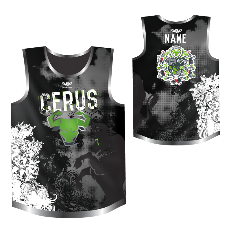 Cerus Men's Sleeveless OCR Jersey by Legendborne