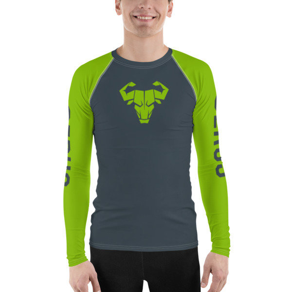 Men's Green Long-Sleeve Tech Shirt