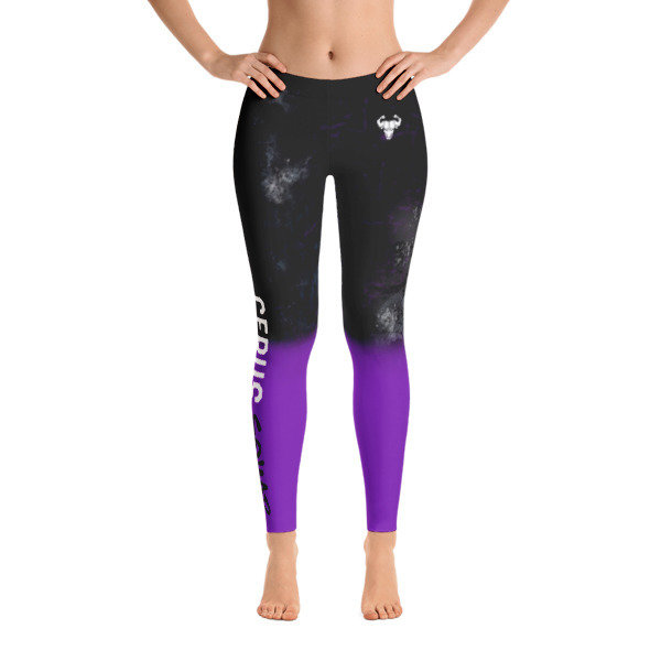 Purple Cerus Squad Ombre Leggings