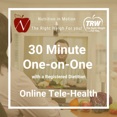 One-on-One with a Registered Dietitian