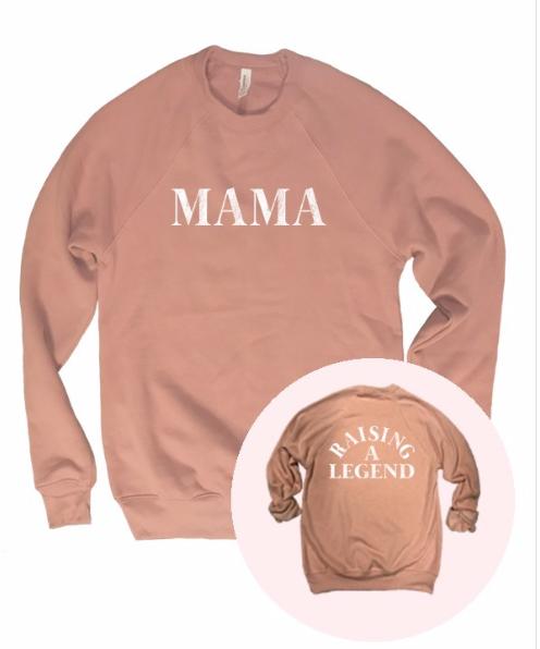 MAMA - RAISING A LEGEND | mauve