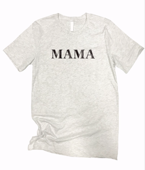 MAMA | RAISING LEGENDS ~ ash grey tee