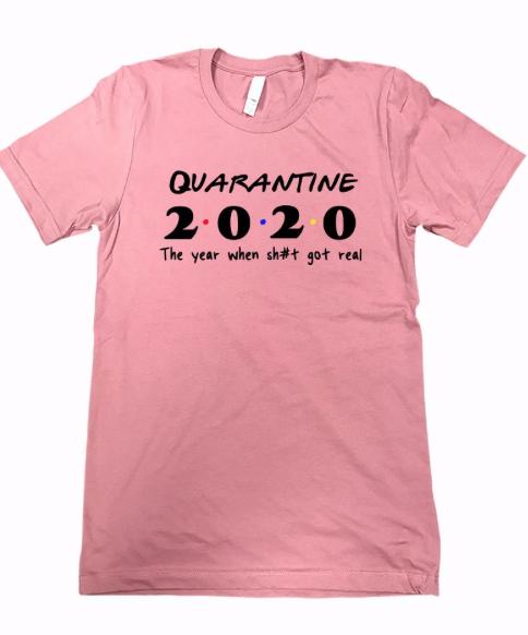 Quarantine 2020 ~ mauve pink