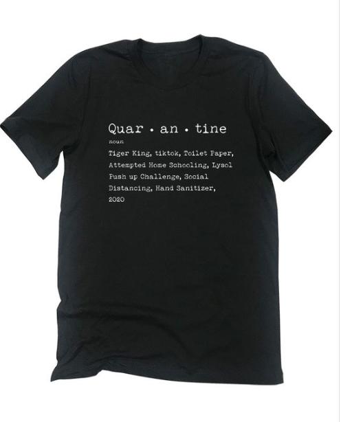 Quar - an - tine   black
