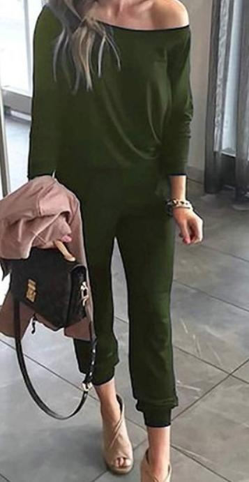Cozy Dayz Jumpsuit | Olive