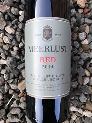 Meerlust Red 2014 (Cabernet Sauvignon/Merlot) Magnum