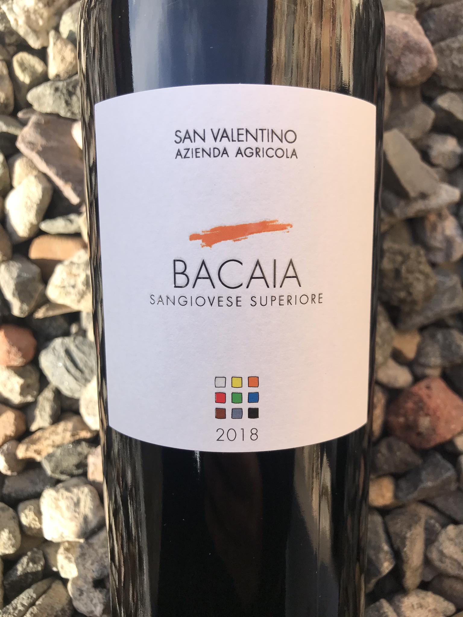 Sangiovese 'Bacaia' San Valentino 2018 IT9