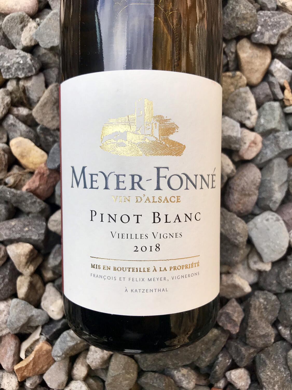 Meyer Fonne Pinot Blanc Vielles Vignes 2018