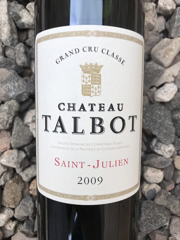 Chateau Talbot St-Julien 2009