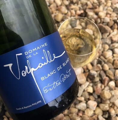 Cremant de Bourgogne Blanc de Blancs, Domaine de la Verpaille Brut 2017