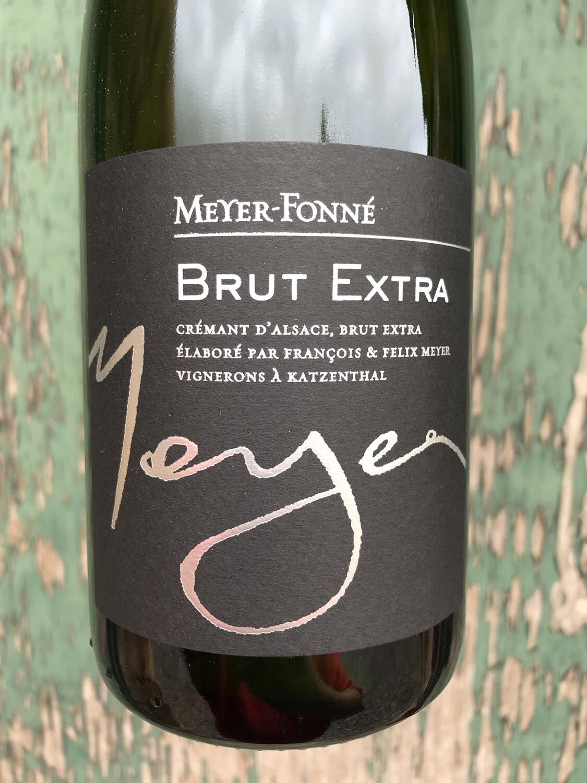 Cremant d'Alsace 'Brut Extra' Meyer Fonne NV