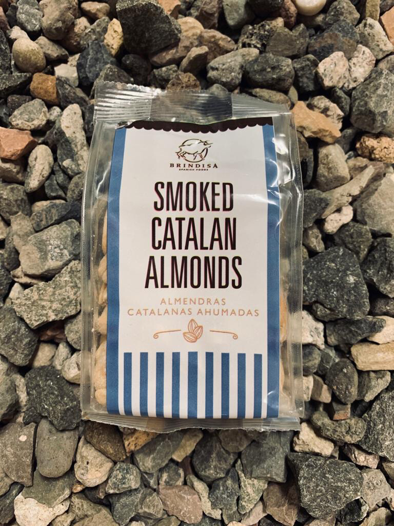 Brindisa smoked Catalan almonds 150g Bag