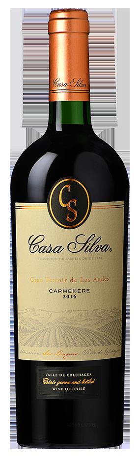 Casa Silva 'Los Lingues' Carmenere 2017
