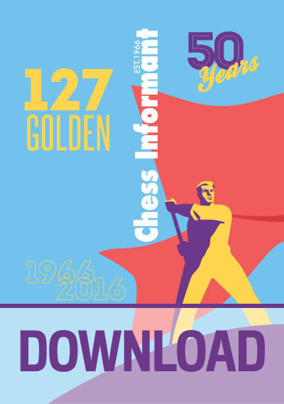 Chess Informant 127 Golden - DOWNLOAD VERSION