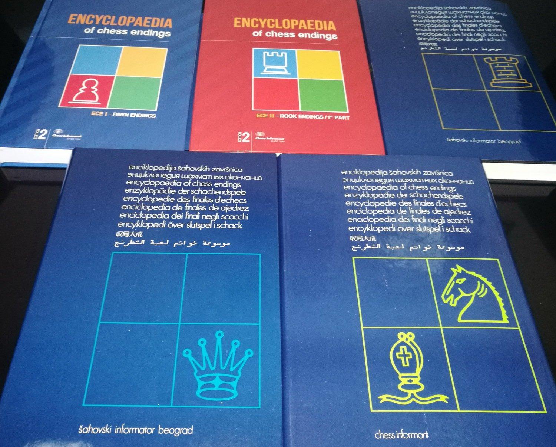 Encyclopedia of Chess Endings I-V (Five book set)