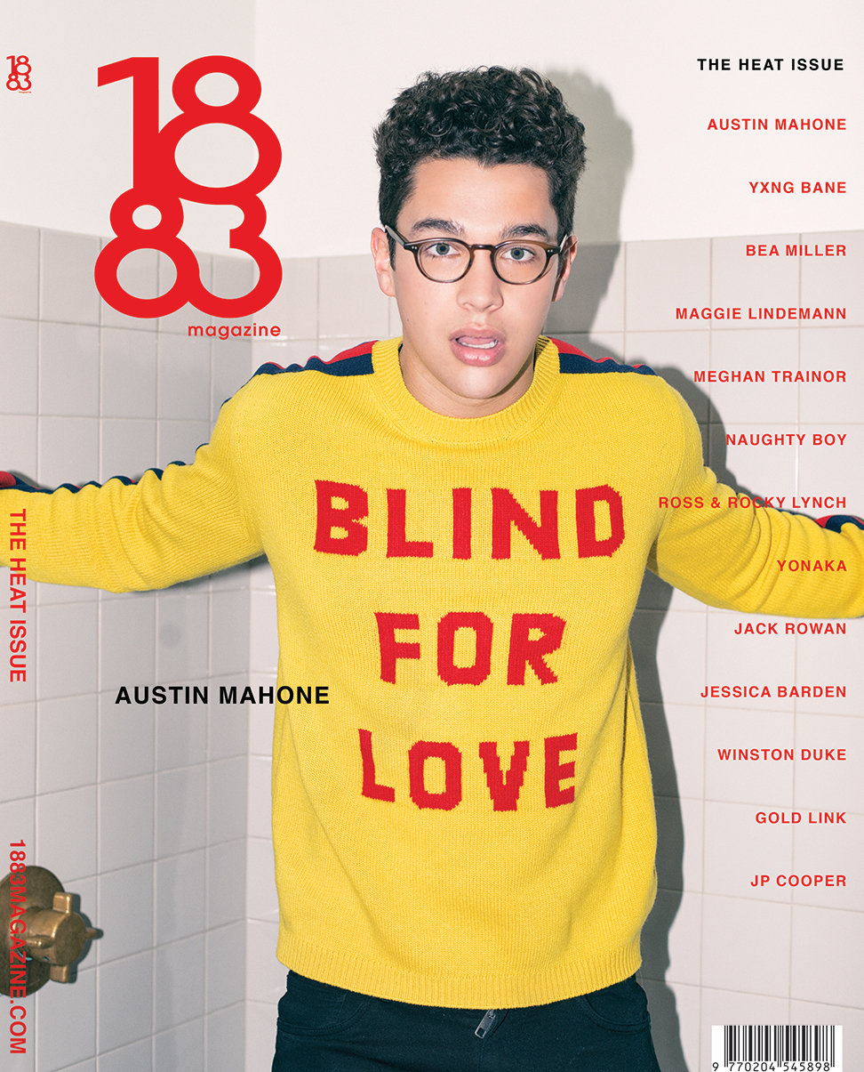 1883 Magazine The Heat Issue Austin Mahone