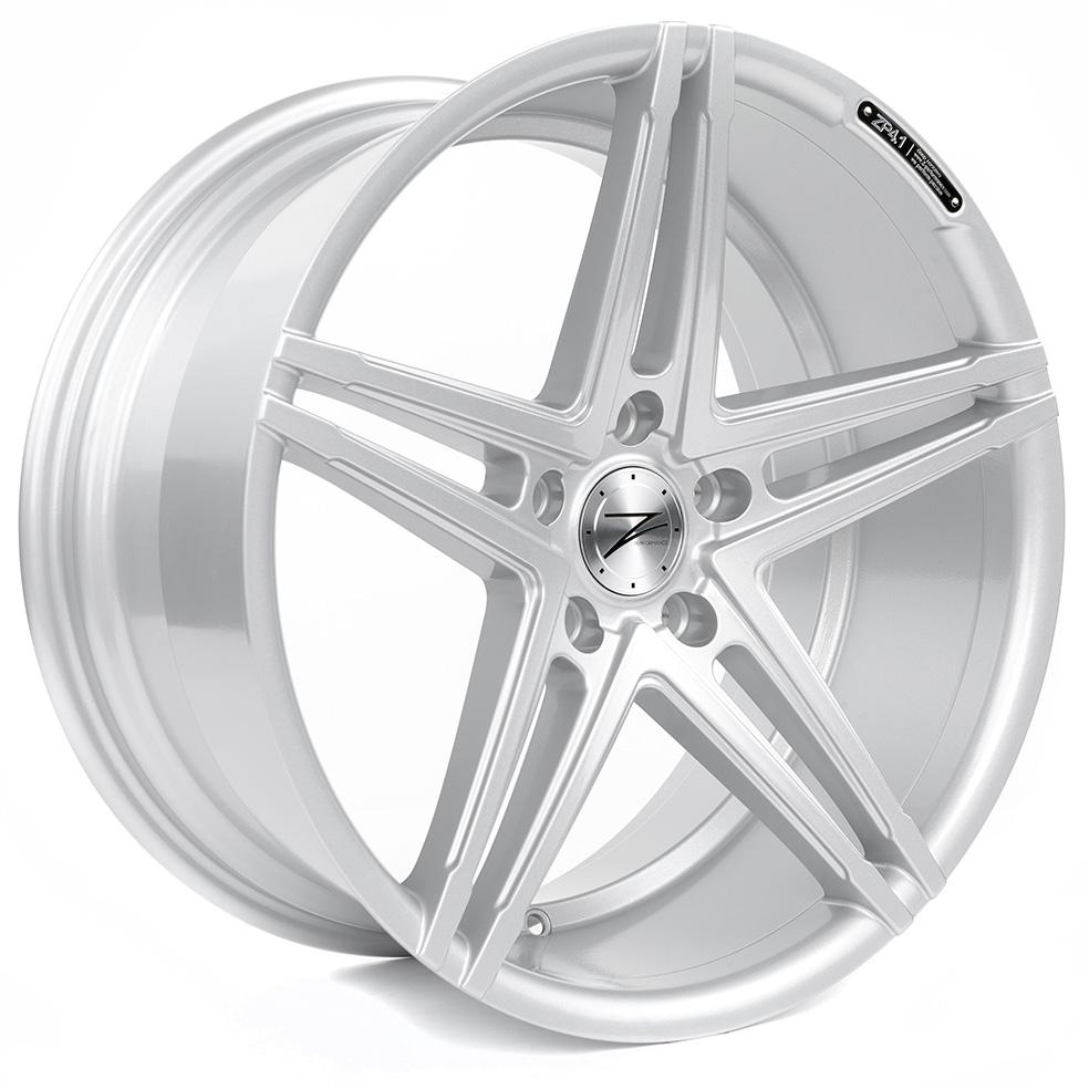 Z-Performance ZP4.1 9.5x19 ET45 5x112 Sparkling Silver ZP419519511245666SSXX