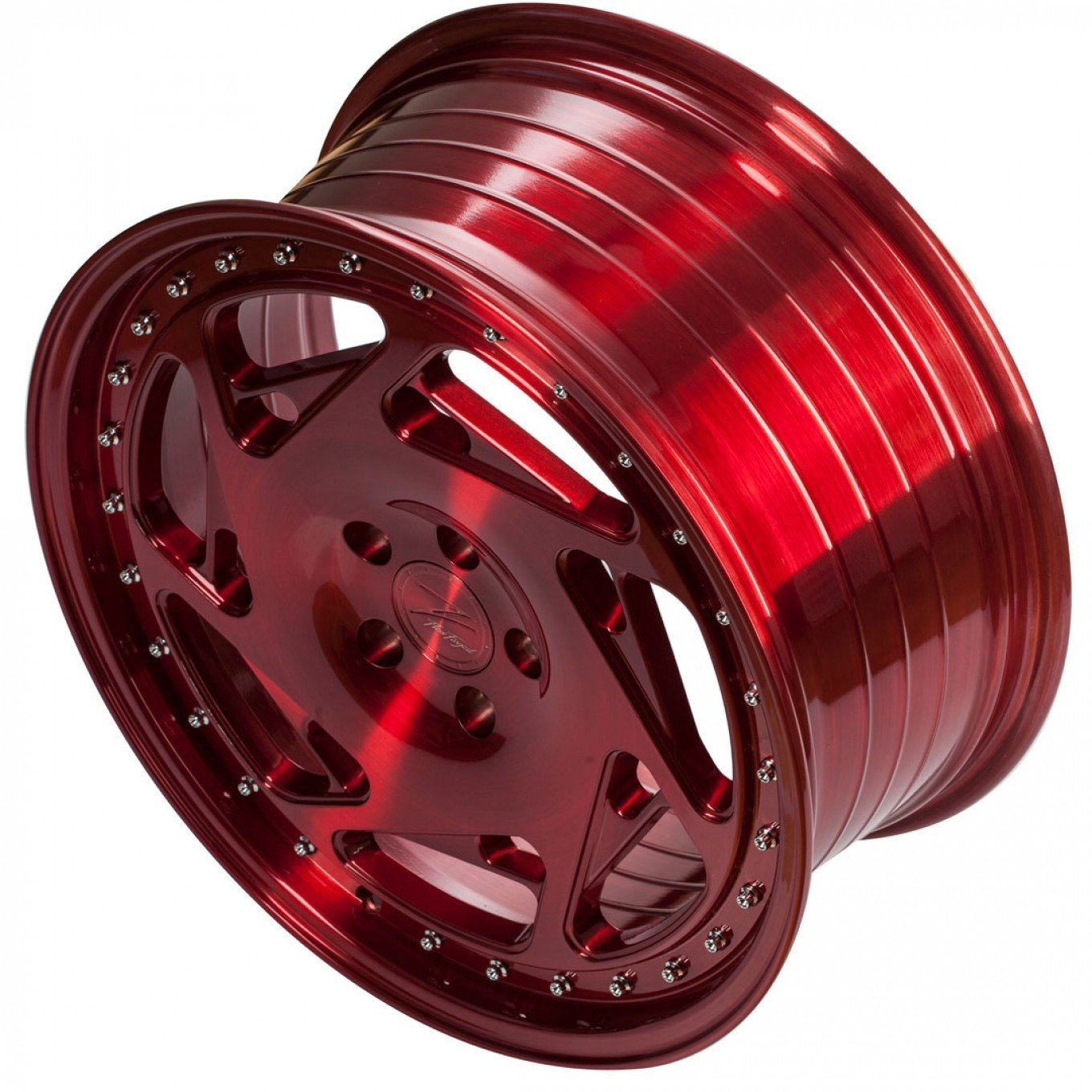 ZP5.1 8,5x19 Et45 5112 66,6 Flowforged Brushed Candy Red
