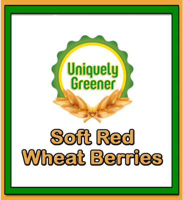 Organic Soft Red Wheat Berries