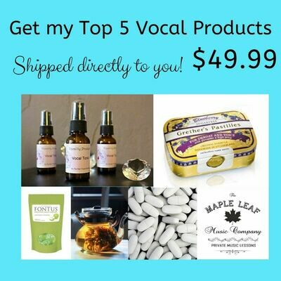 Top 5 Vocal Products