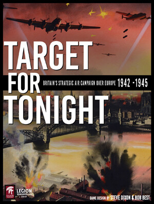 Target For Tonight: Britain's Strategic Air Campaign Over Europe, 1942-1945 (A Solitaire Wargame)