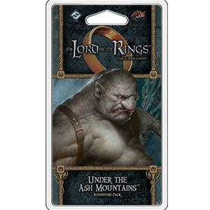 The Lord of The Rings: The Card Game - Under the Ash Mountains Adventure Pack