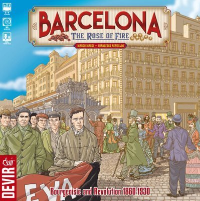 Barcelona: The Rose of Fire (DING/DENT-Very Light)