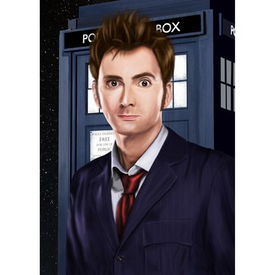 Doctor painting