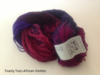 Toasty Toes - Superwash Merino wool