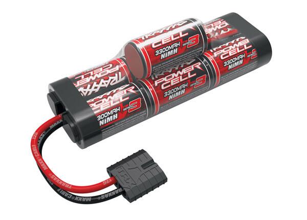 Traxxas Battery, Series 3 Power Cell ID, 3300mAh (NiMH, 8.4V hump)