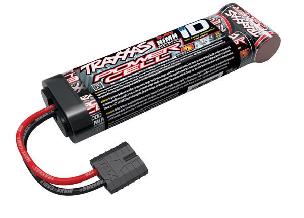 Traxxas Battery, Series 5 Power Cell ID, 5000mAh (NiMH, 8.4V flat)