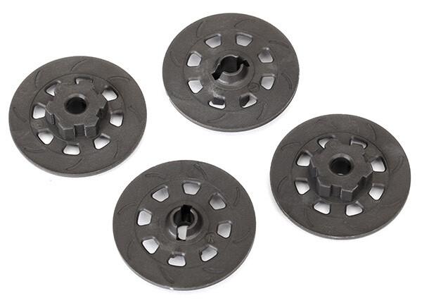 Wheel Hubs, Hex (Disc Brake Rotors) (4)